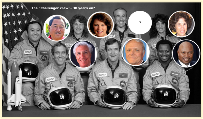 "IS THE ""DEAD CHALLENGER CREW"" STILL ALIVE AND WELL?"