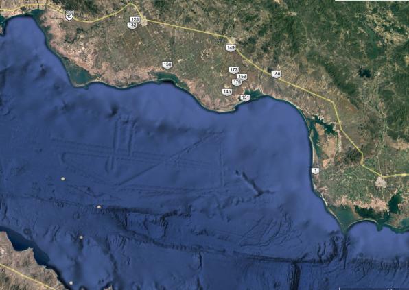 Weird marks on Google Earth